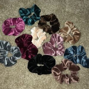 10 pc scrunchies